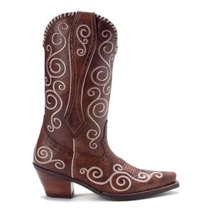Ariat Shelleen Swirly Embroidered Western Boots